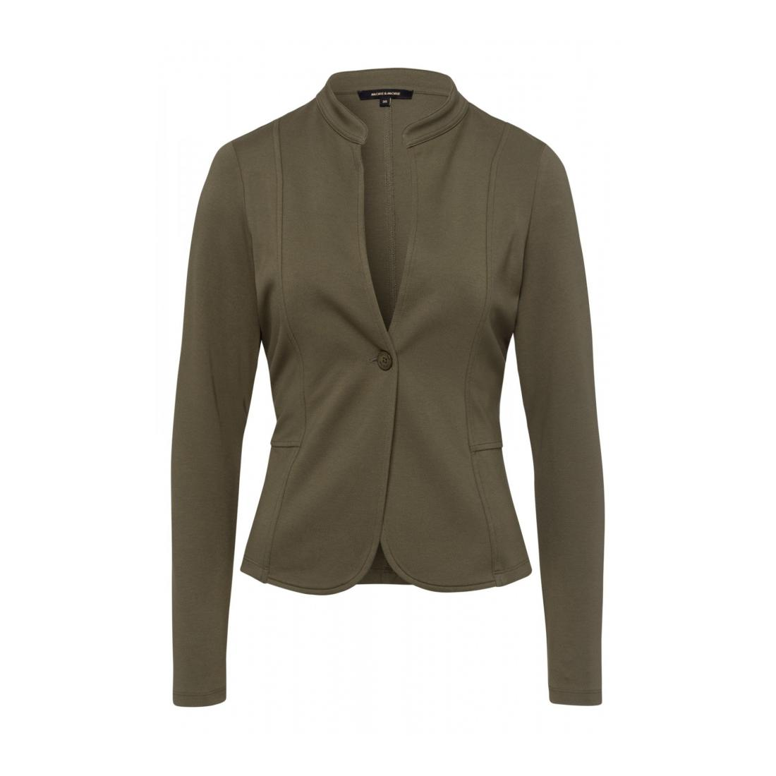 More & More  Short Interlock Jacket Ac