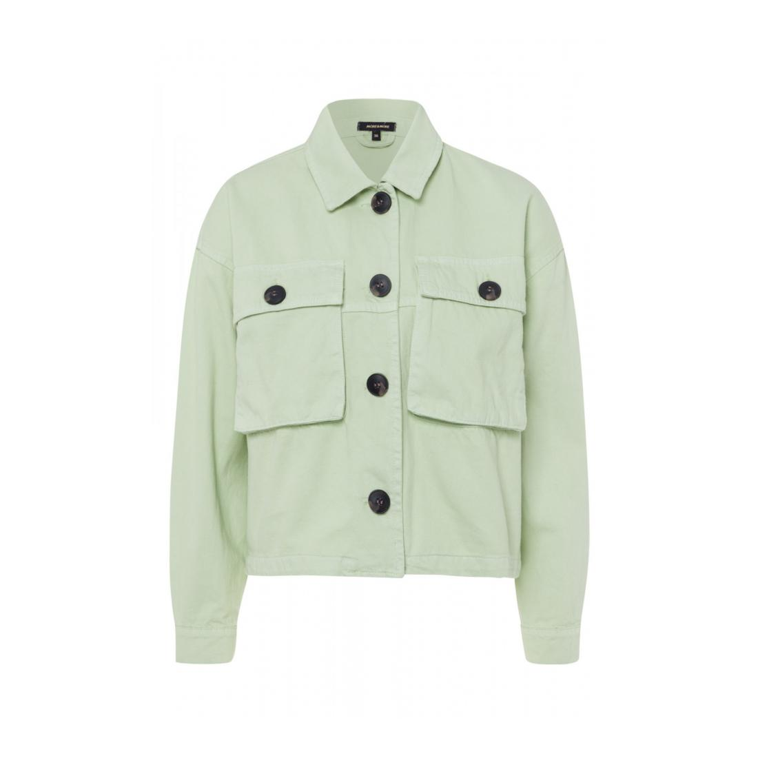 More & More Jacke kurz Damen Casual Cotton Cargo Jacke