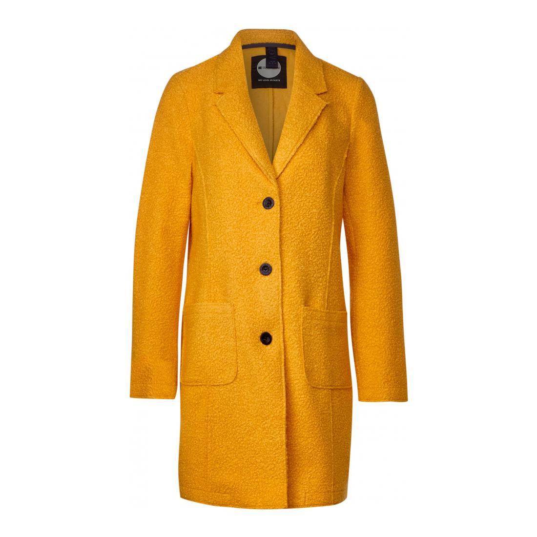 Street One Mantel Damen LTD QR curly revers coat