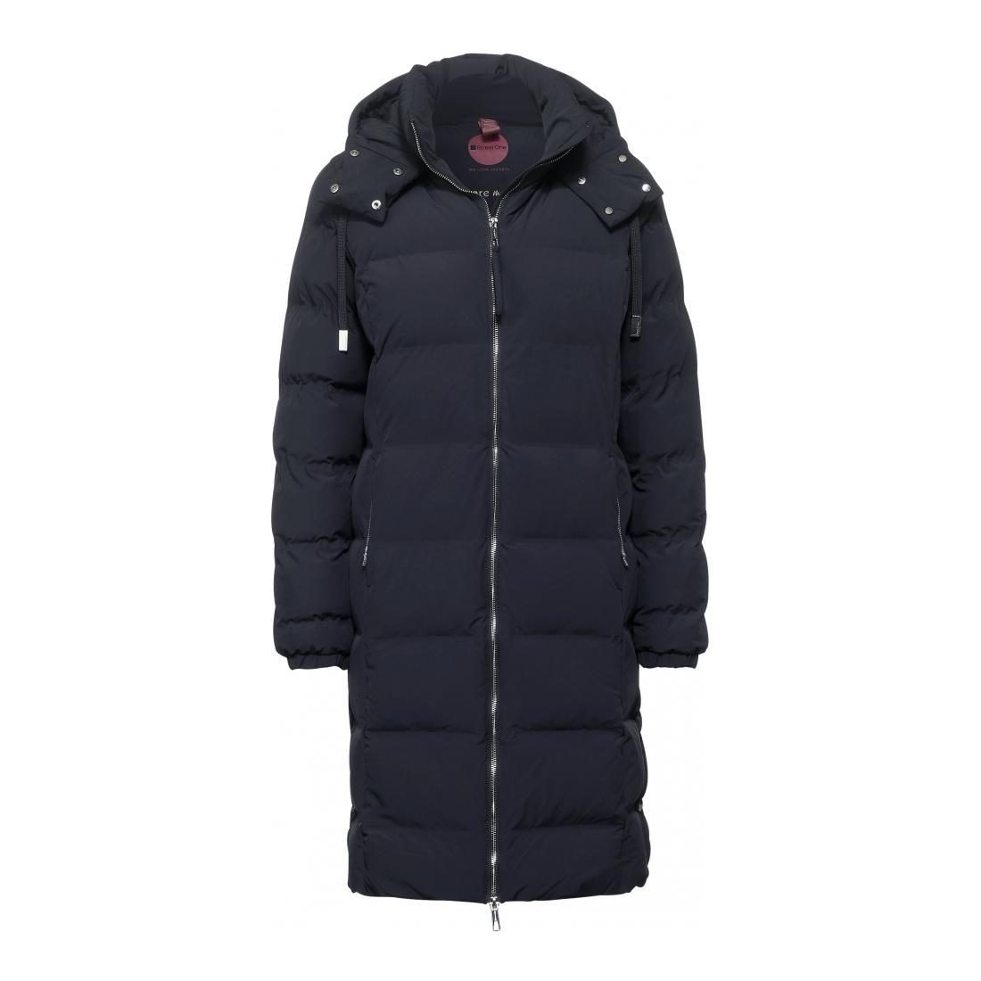 Street One Mantel Damen long padded modern coat