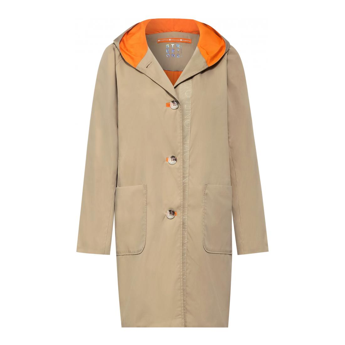 Street One Mantel Damen hoody coat w. Teflon