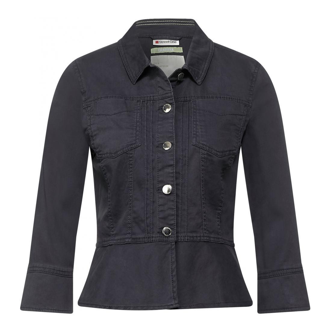 Street One Damen  Blazer Freizeit LTD QR Blouse Jacket
