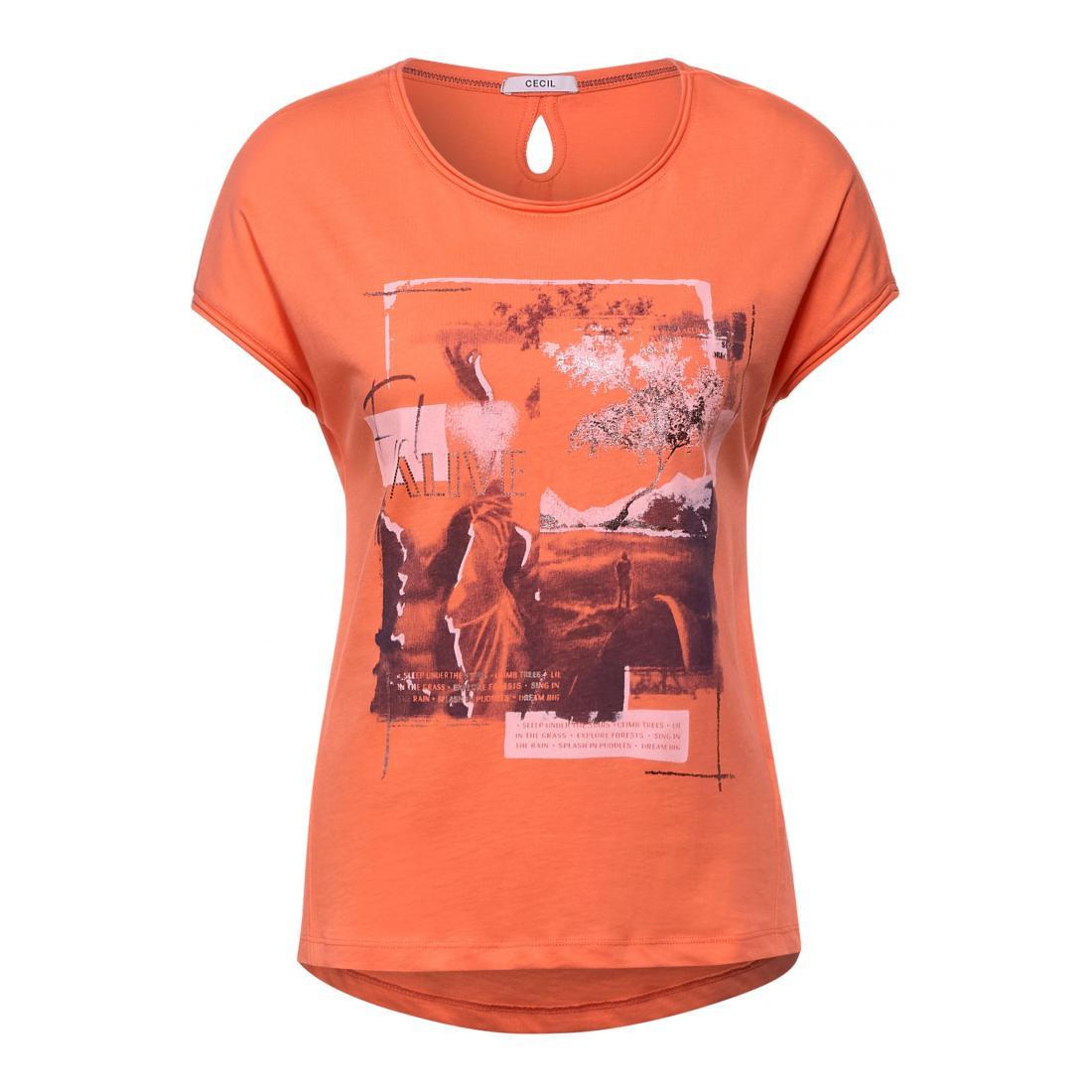 Cecil T-Shirt Damen Alive FP Shape