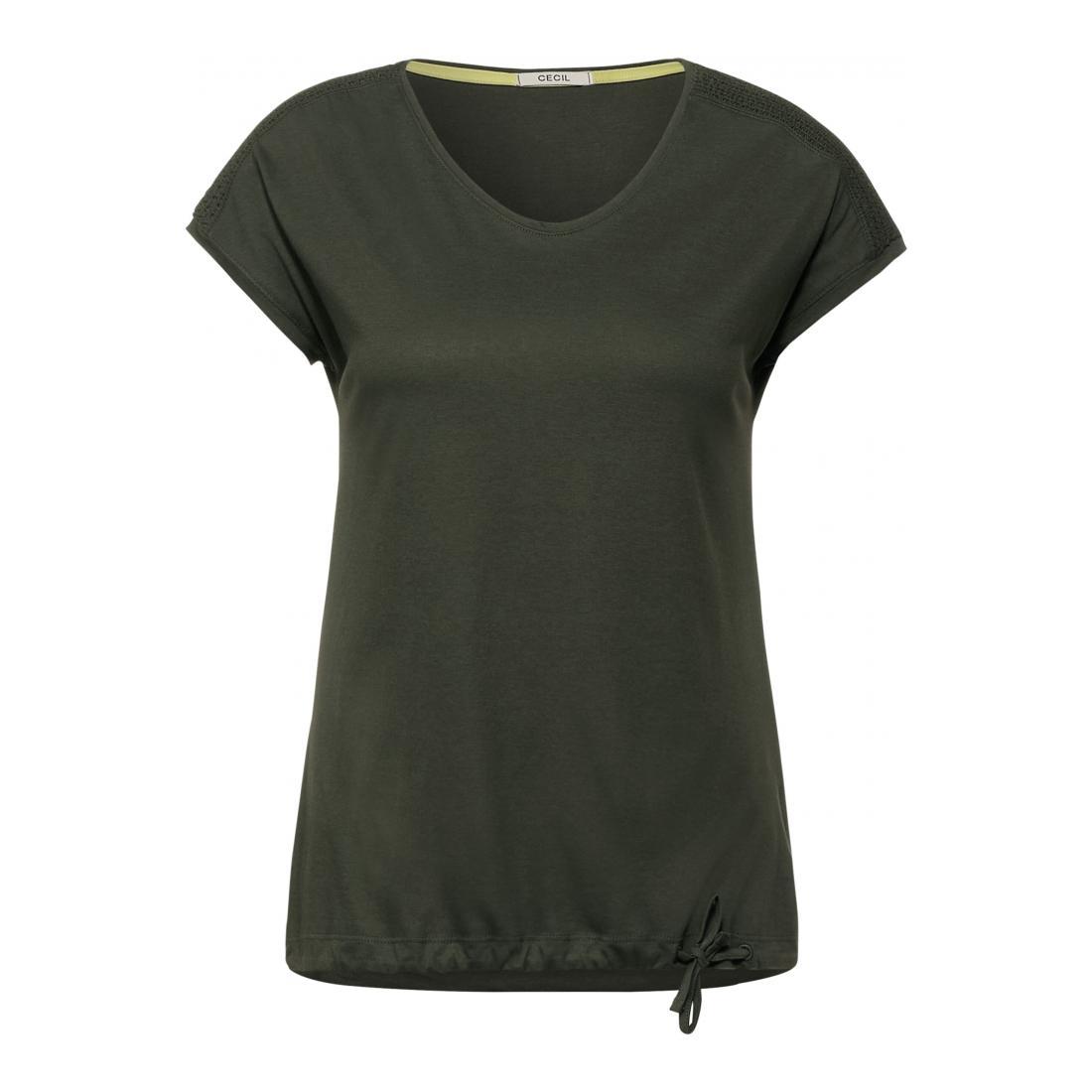 Cecil T-Shirt Damen NOS Smock Shoulder Shape