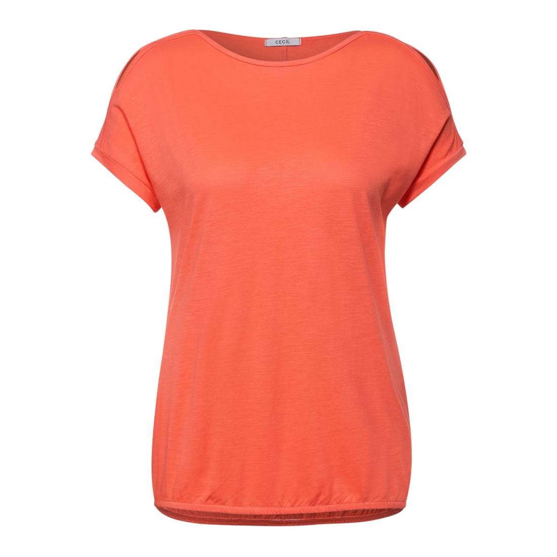 Cecil T-Shirt Damen NOS Cold Shoulder