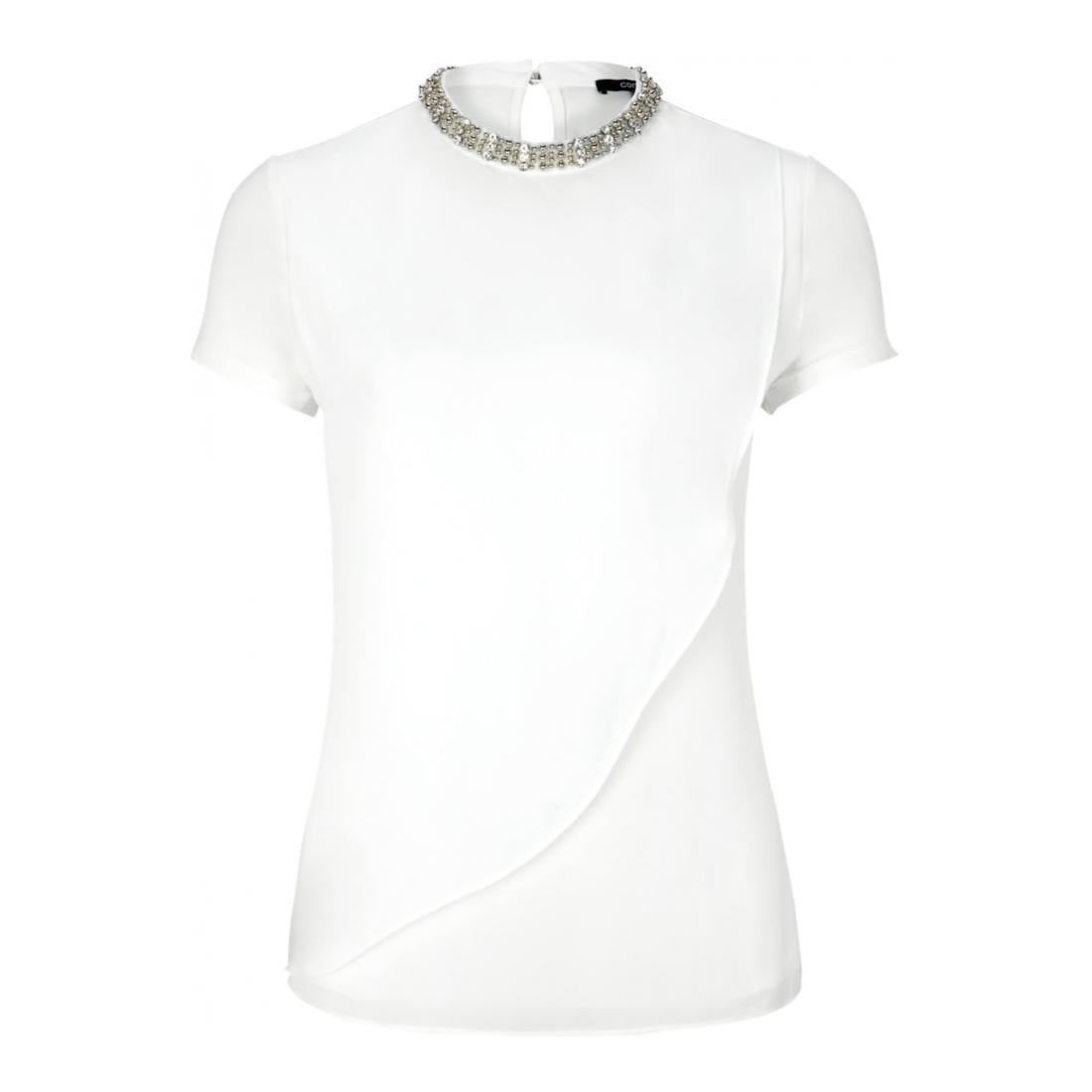 Comma T-Shirt Damen T-SHIRT KURZARM