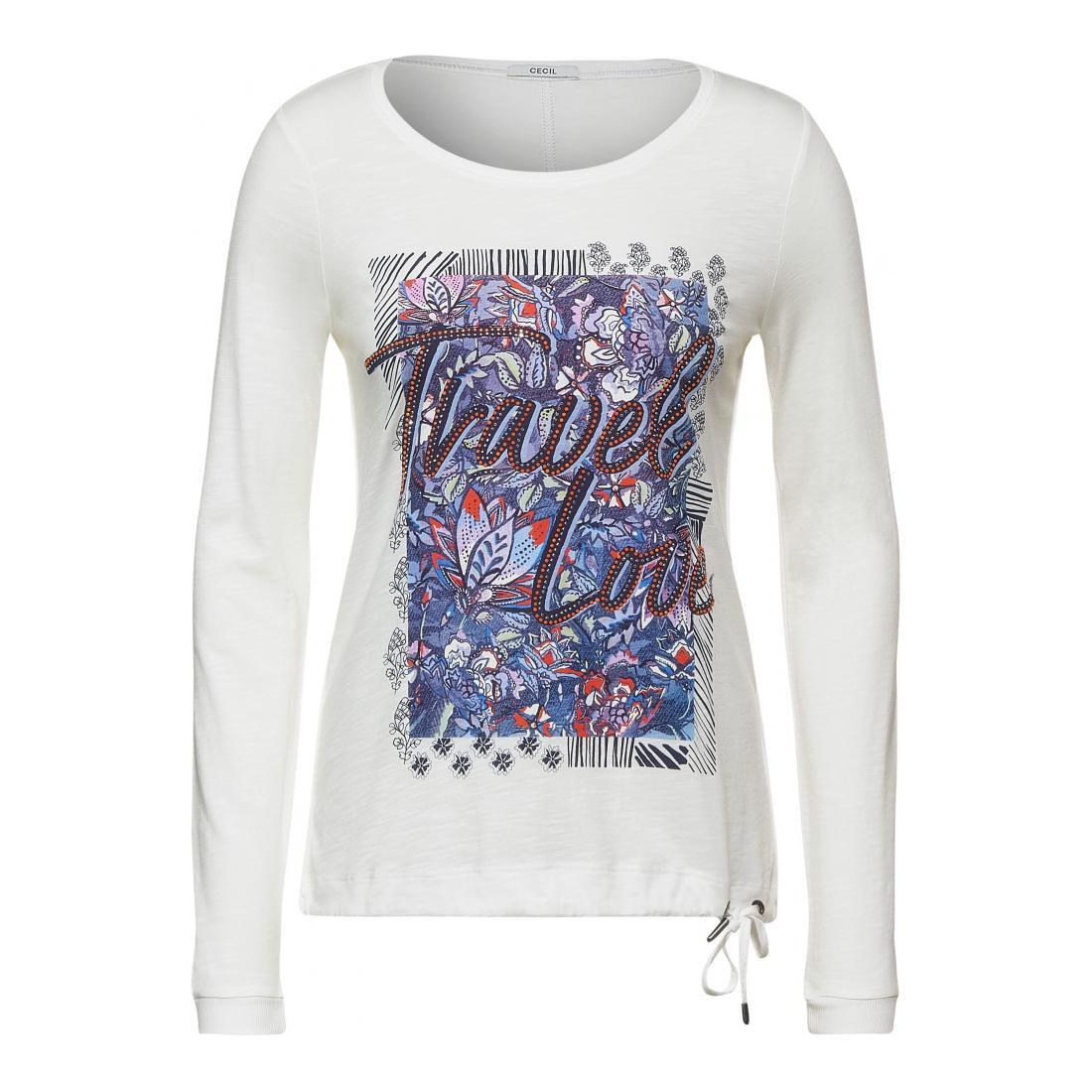 Cecil Longsleeves Damen FP Travel Love T-Shirt