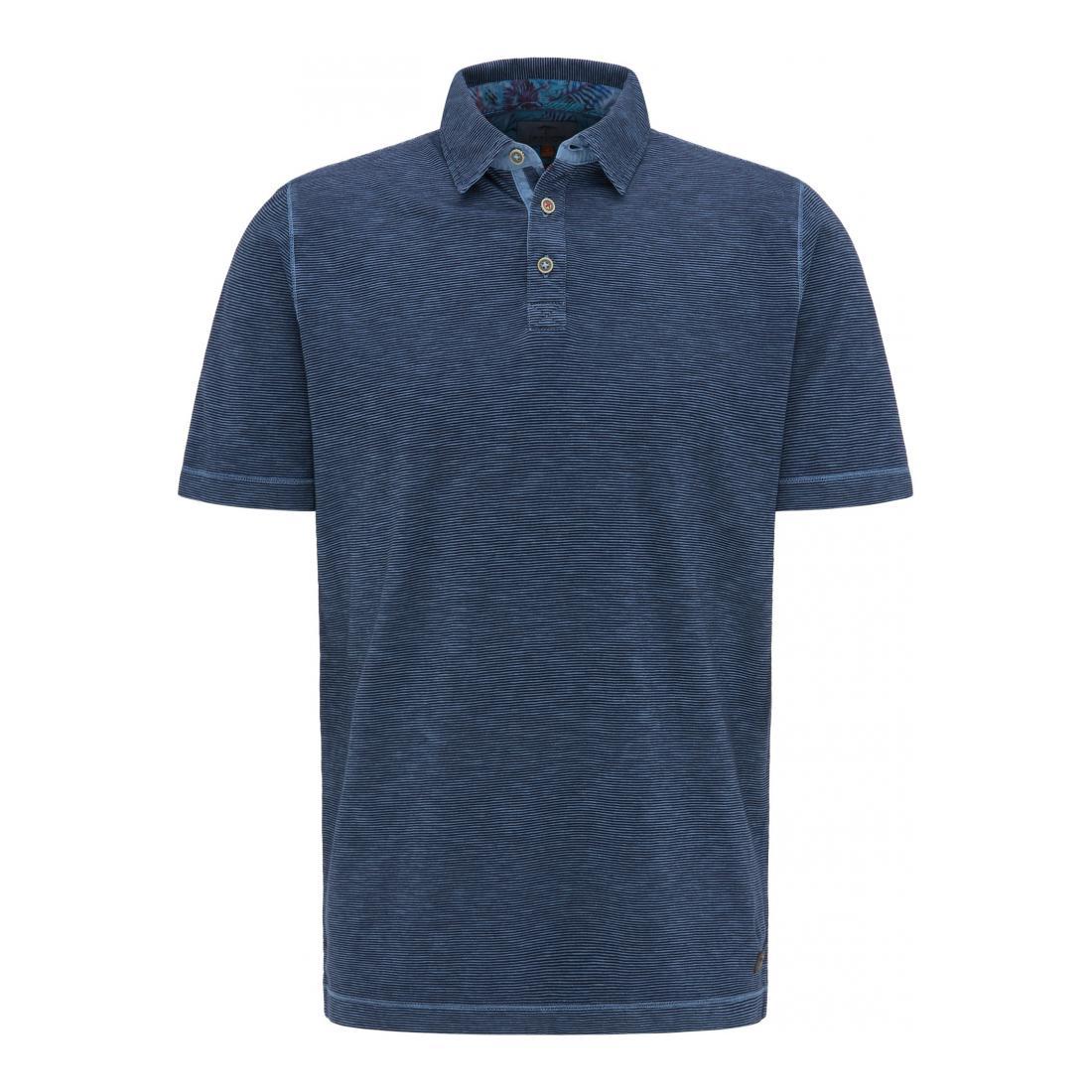 Fynch-Hatton Polo Herren Polo, Slub Jersey, Finest