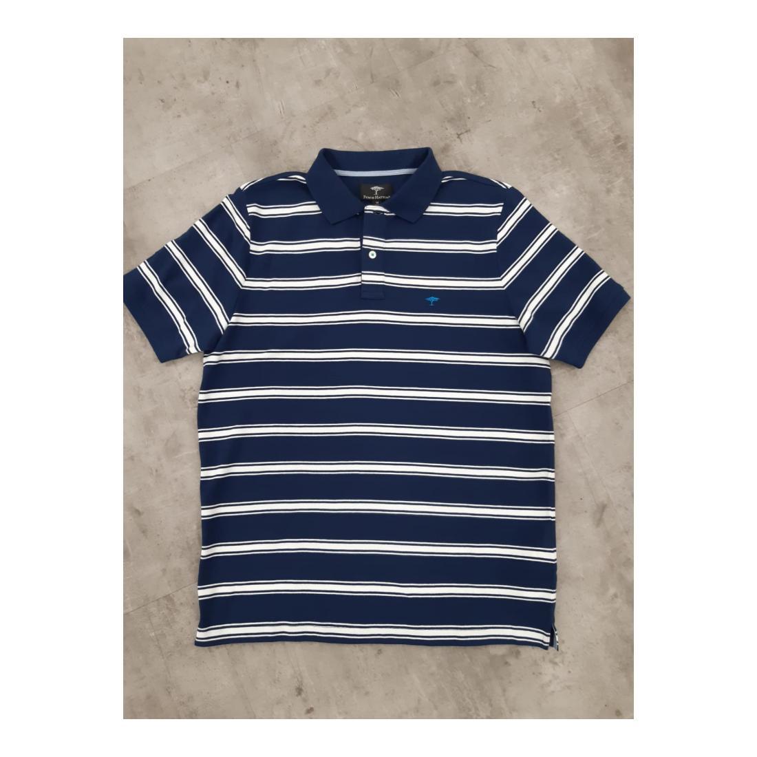Fynch-Hatton Polo Herren Polo, Stripe