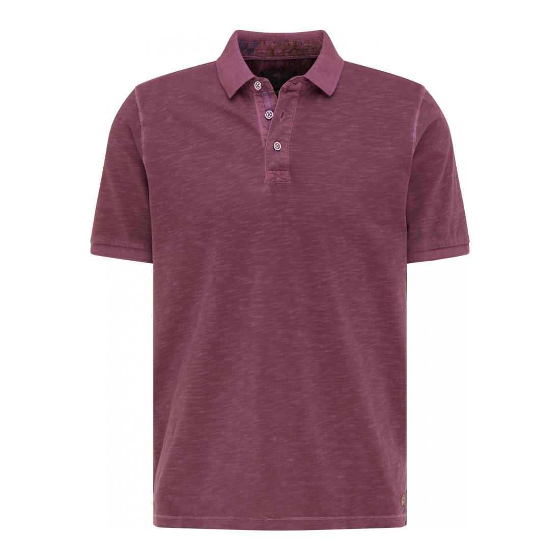 Fynch-Hatton Polo Herren Polo, Jersey, Garment Dye