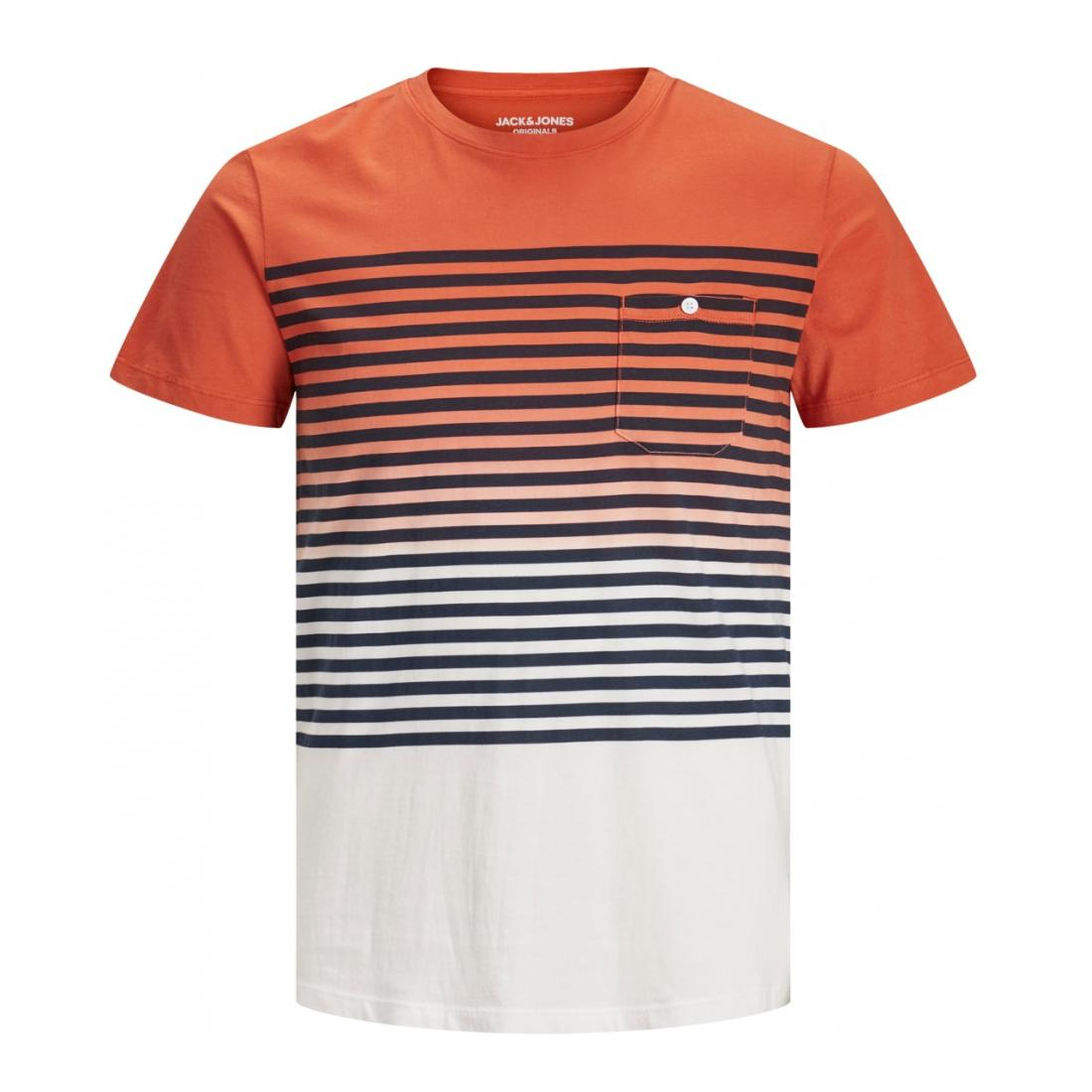 Jack & Jones T-Shirt Herren JORGRADE TEE SS CREW NECK