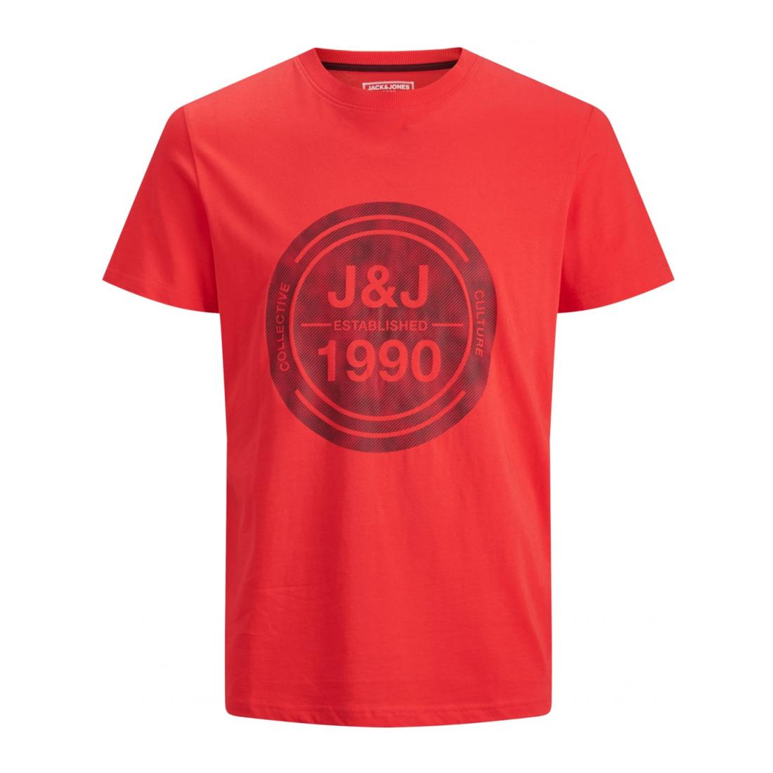 Jack & Jones T-Shirt Herren JCOTATE TEE SS CREW NECK