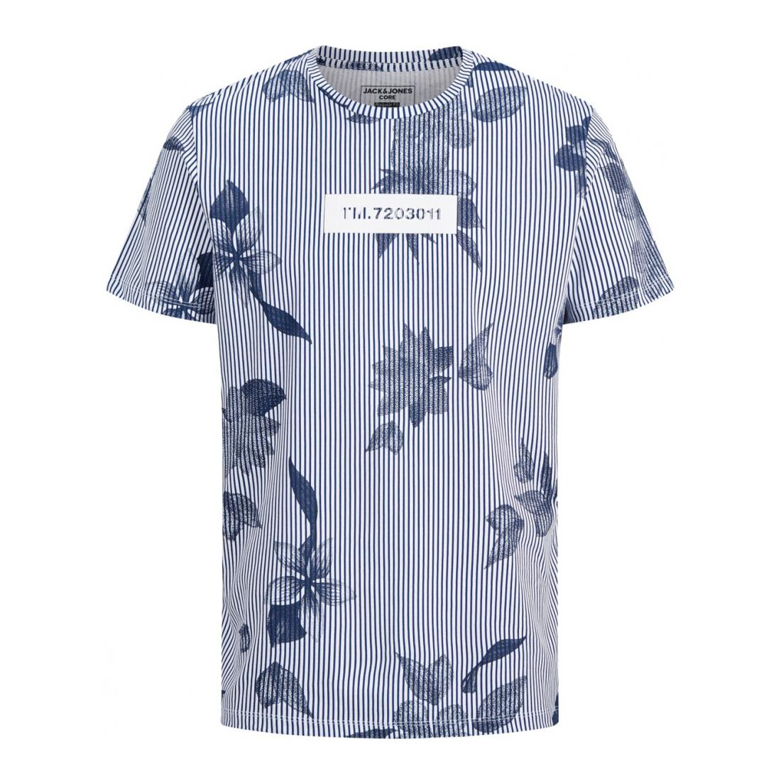Jack & Jones  JCOFLOWER TEE SS CREW NEC