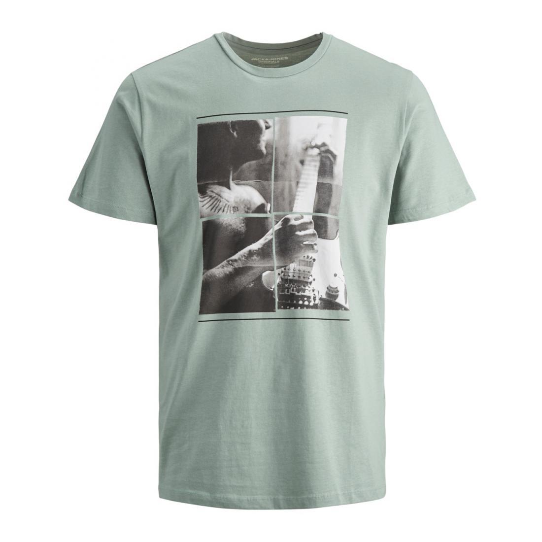 Jack & Jones T-Shirt Herren JORCLOSEUP ORGANIC TEE SS