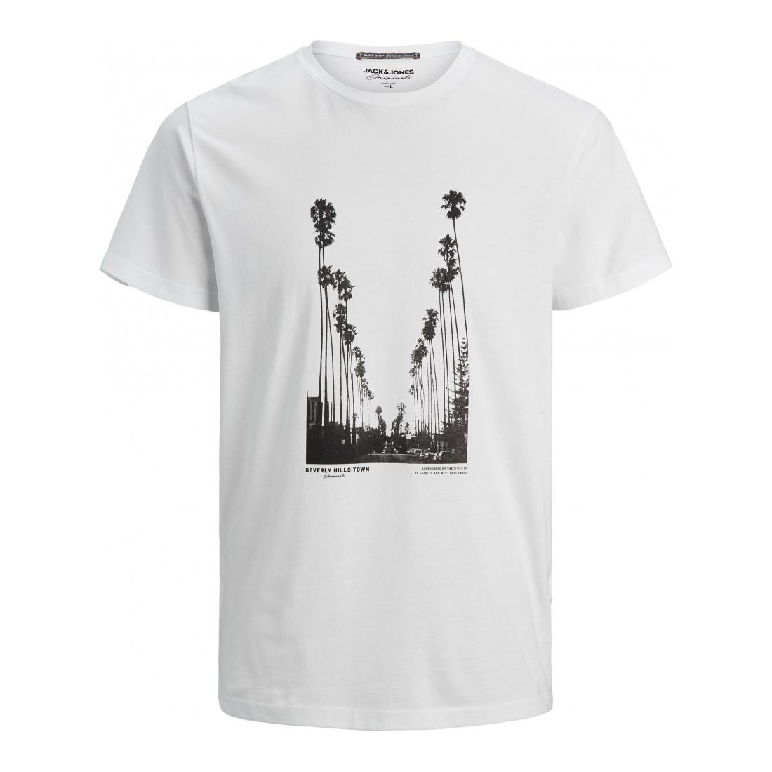 Jack & Jones T-Shirt Herren JORSTOP TEE SS CREW NECK
