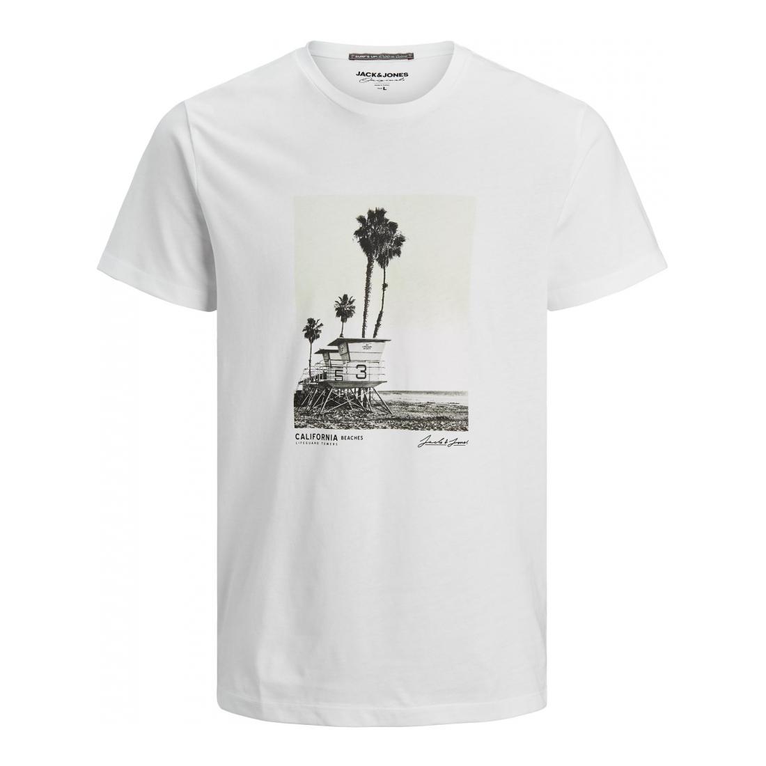 Jack & Jones T-Shirt Herren JORSTOP TEE SS CREW NECK