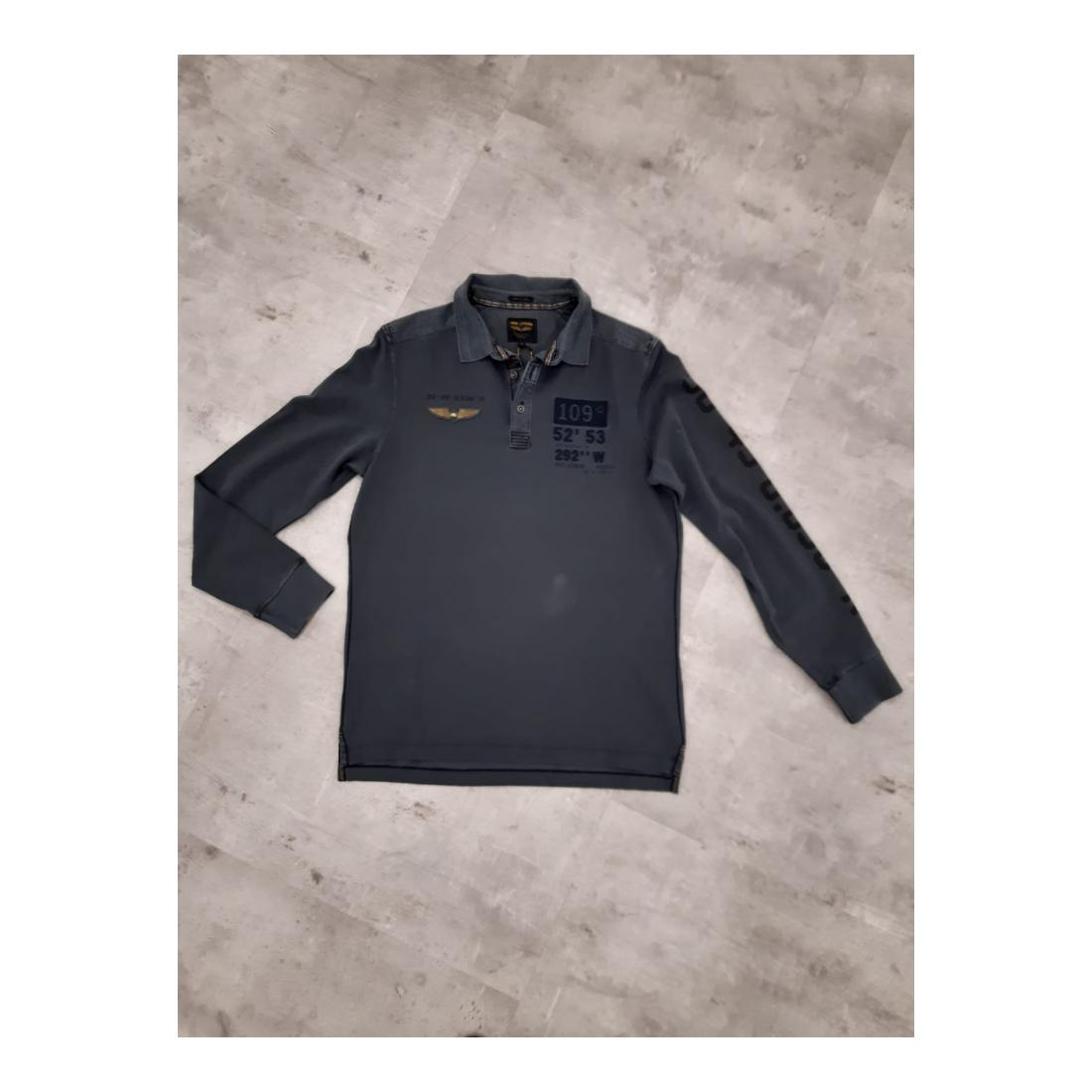 PME Legend Longsleeves Herren Long sleeve polo rugged p