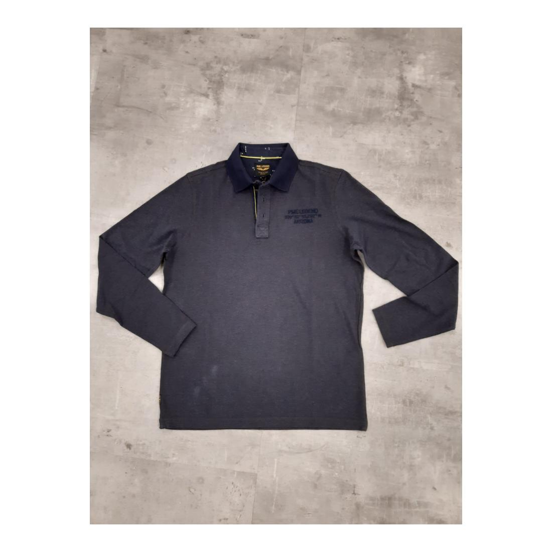 PME Legend Longsleeves Herren Long sleeve polo fine thr