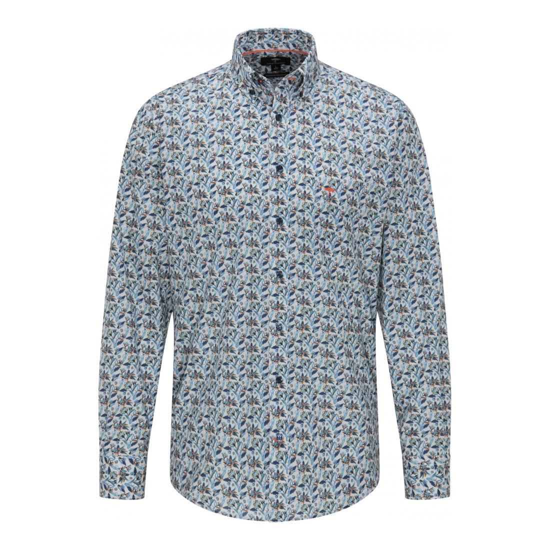Fynch-Hatton Casual Hemden Herren Premium Flower Print, 1/1