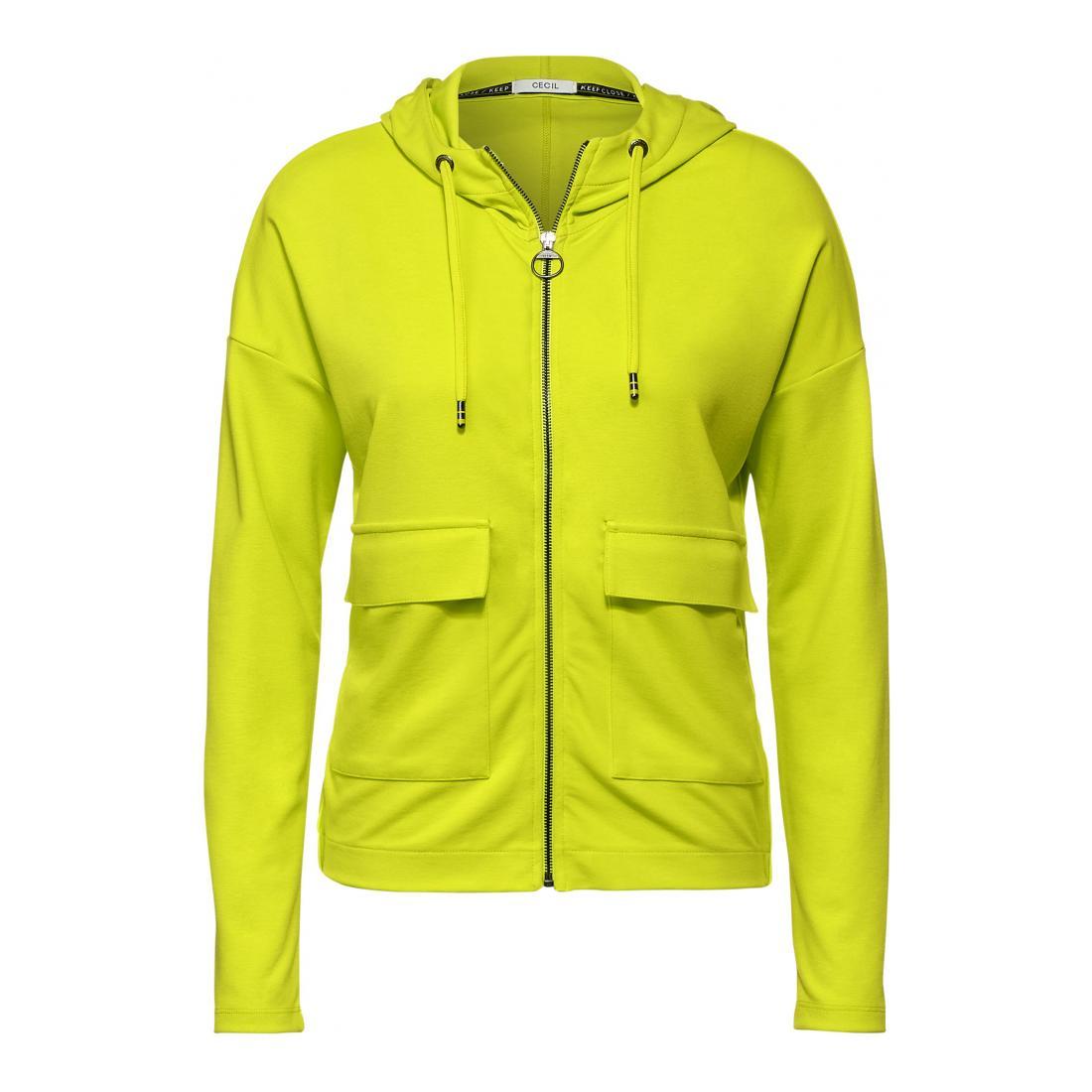 Cecil Cardigan Damen T-Shirt Jacket Big Pocket