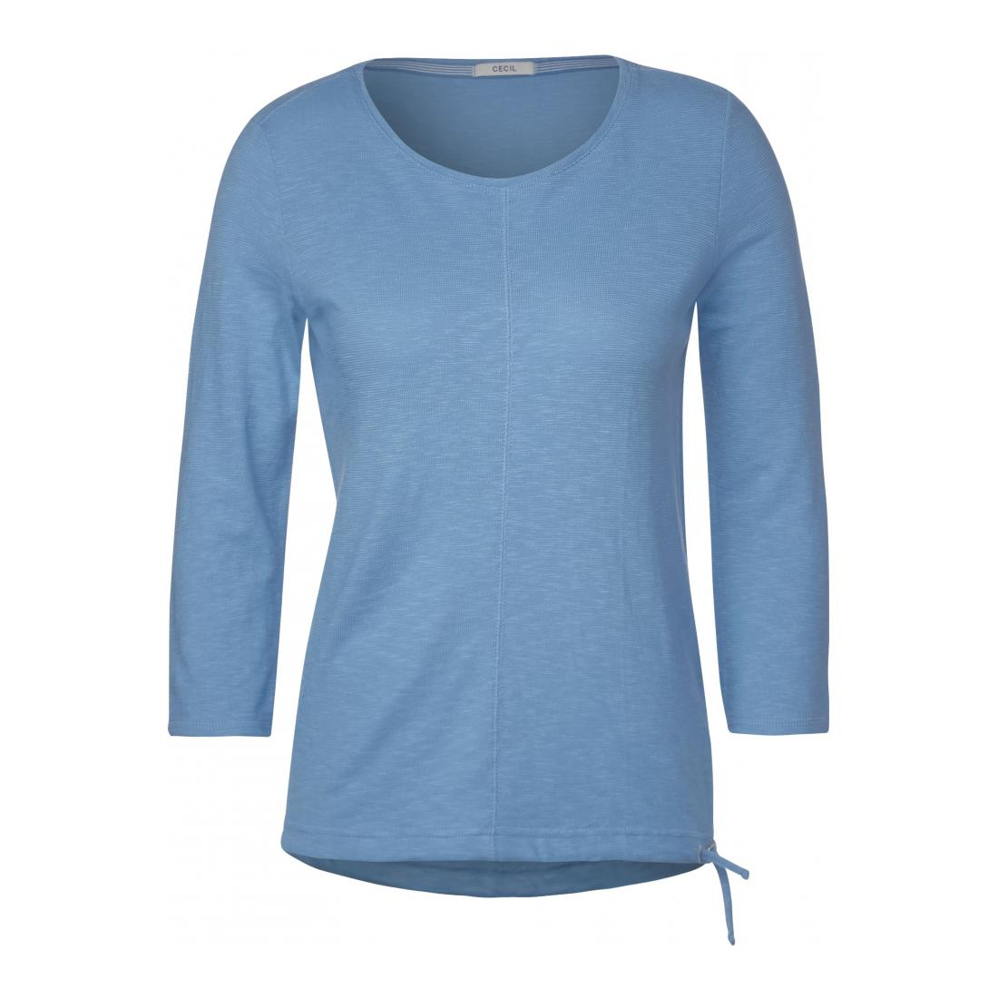 Cecil Longsleeves Damen NOS Structure Basic Shirt