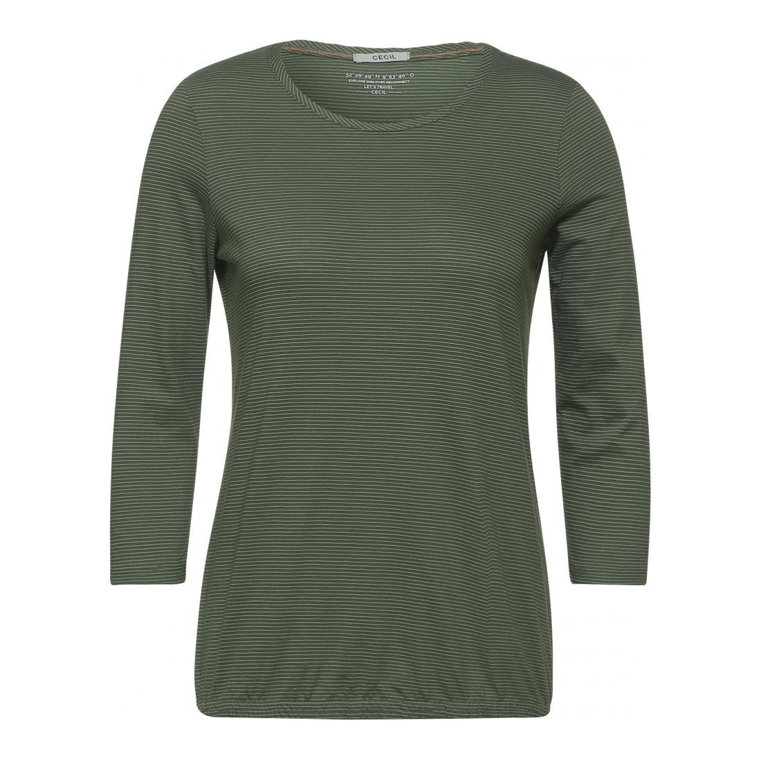 Cecil Longsleeves Damen NOS Stripe T-Shirt