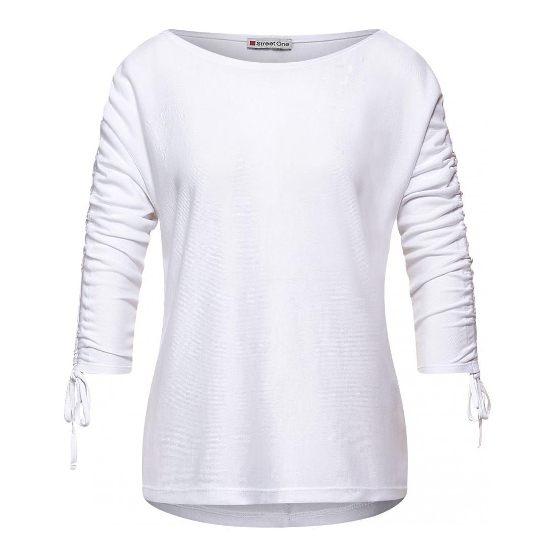 Street One Longsleeves Damen LTD QR batwing shirt w.dr