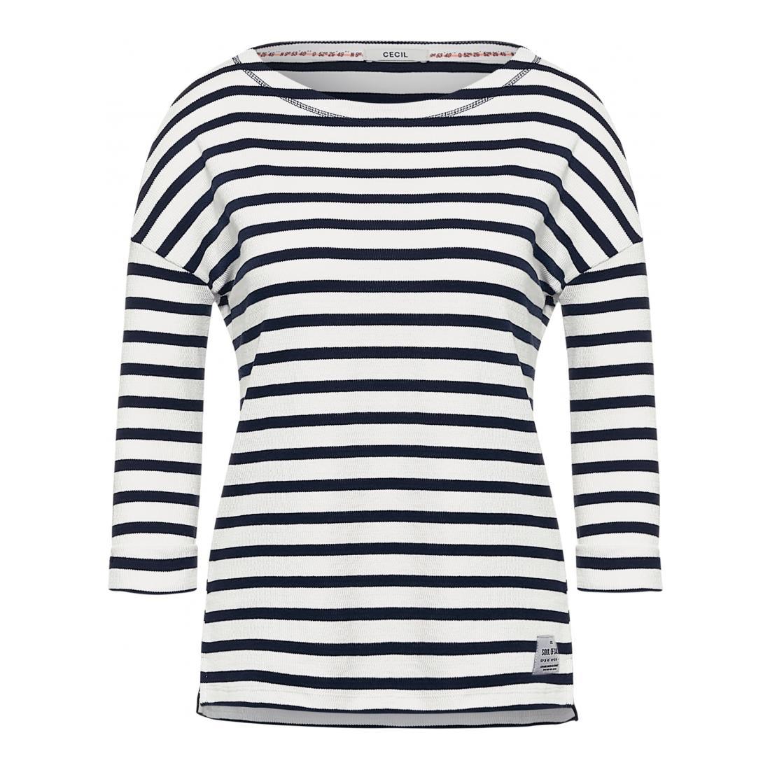 Cecil Longsleeves Damen Stripe Shape