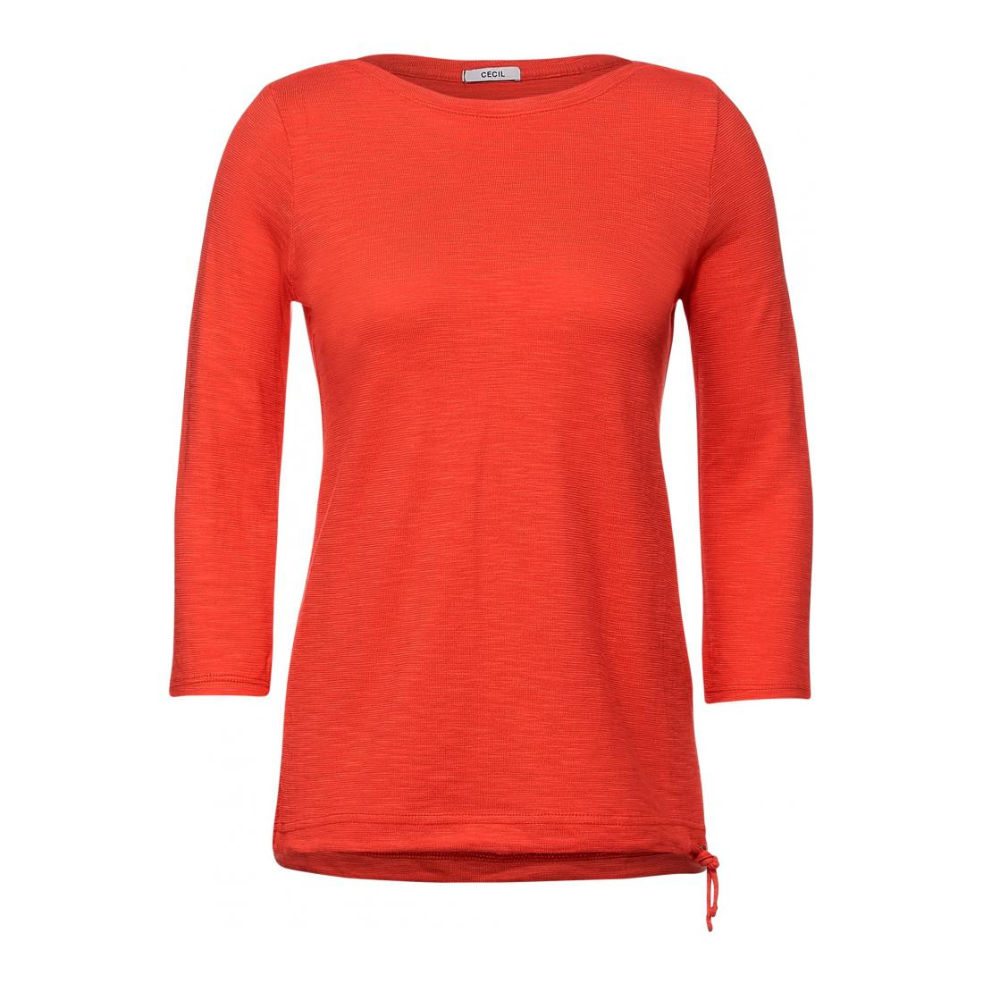 Cecil Longsleeves Damen NOS Structure Basic T-Shi