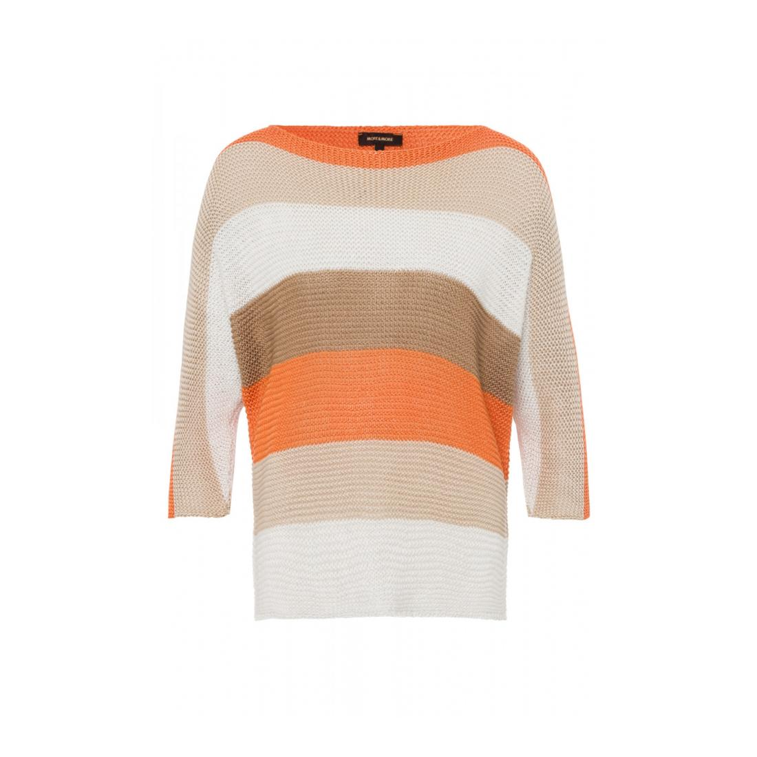 More & More Pullover Damen Multicolour Stripe Pullov