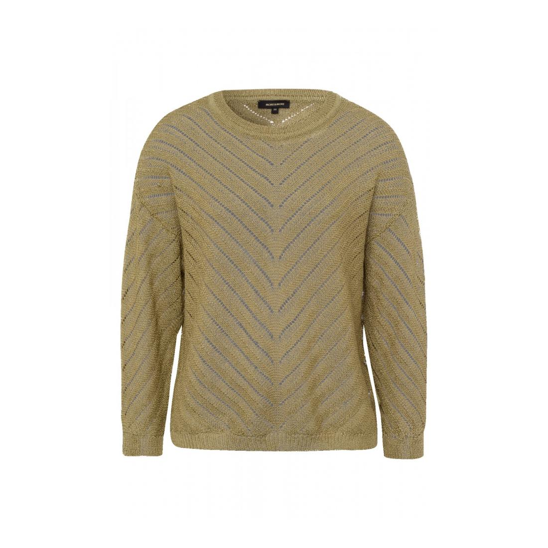 More & More Pullover Damen Pullover w special struct