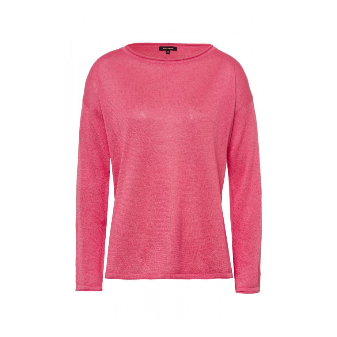 More & More Pullover Damen Linen Blend Pullover Acti