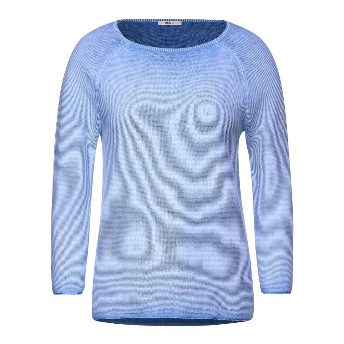 Cecil Pullover Damen Color wasched Pullover