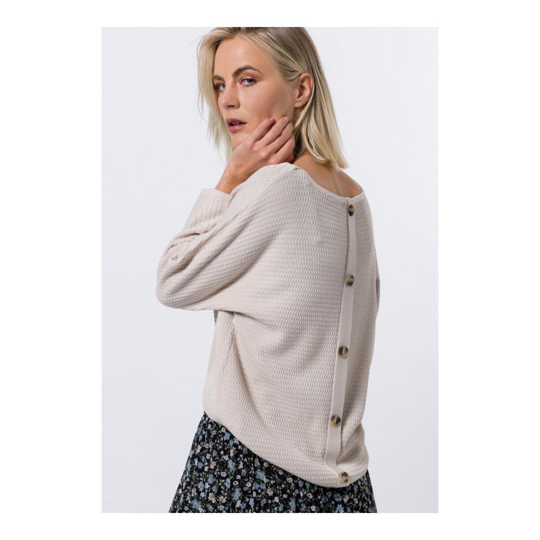 Zero Pullover Damen zero Strickpullover