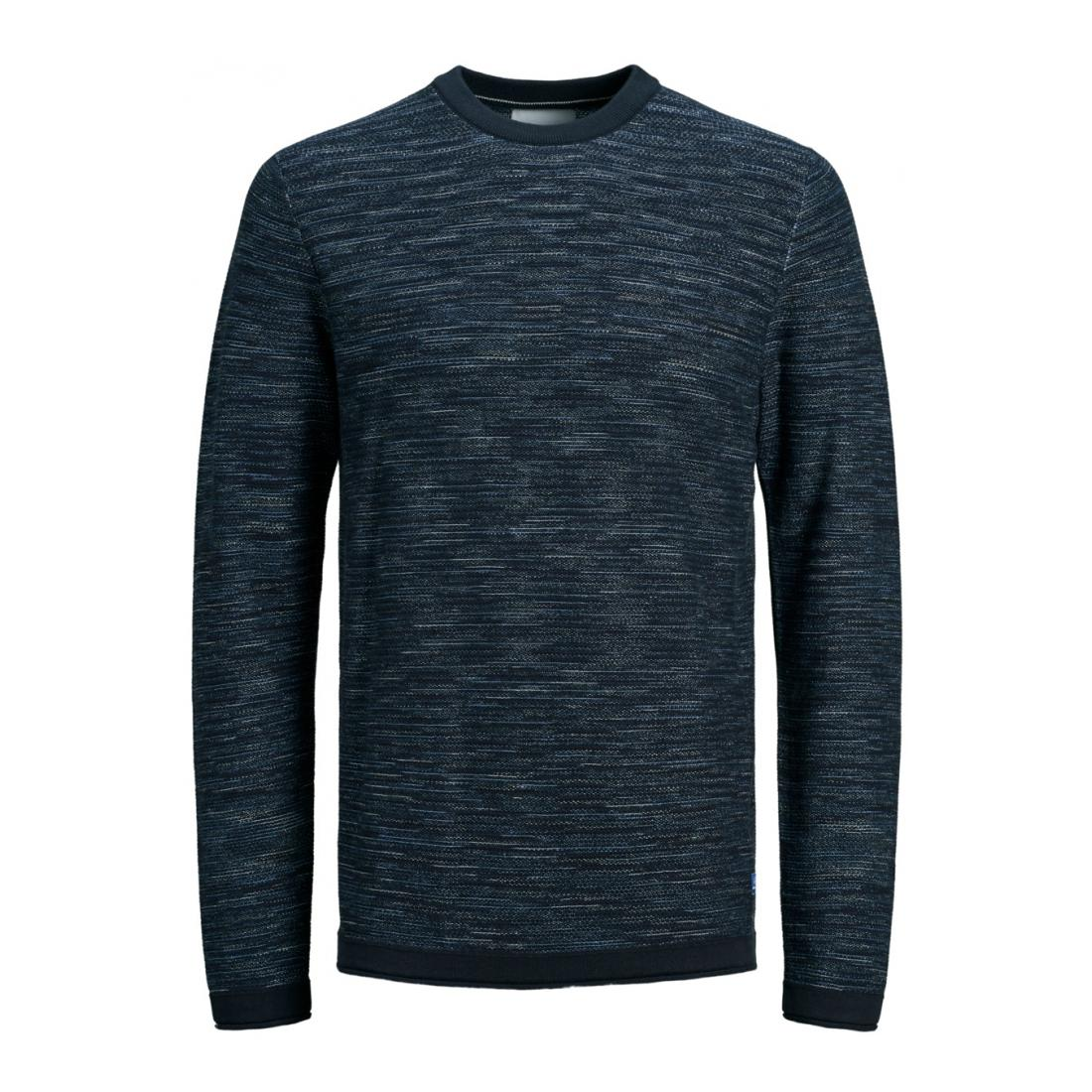 Jack & Jones Pullover Herren JJJEANS KNIT CREW NECK