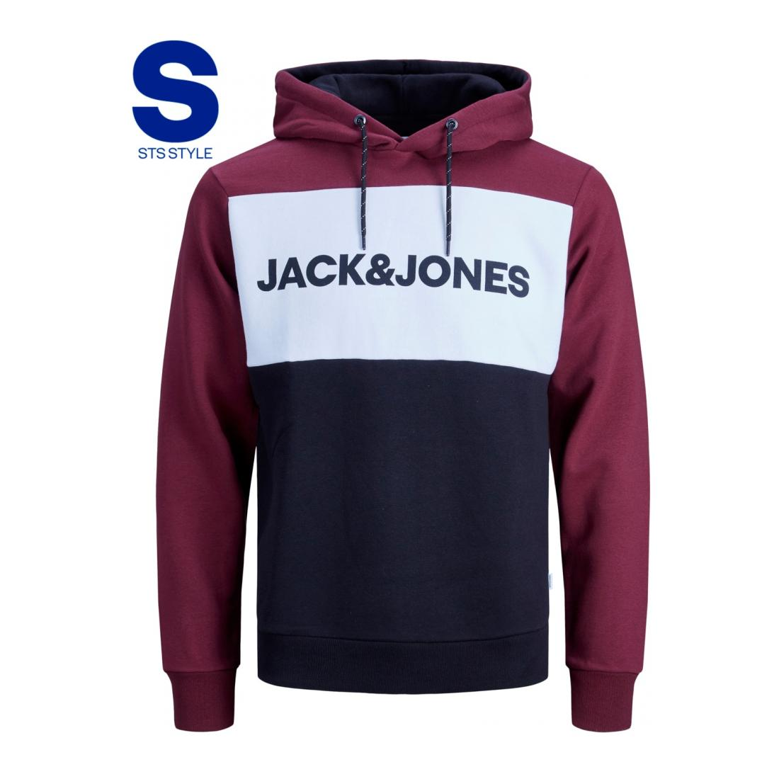 Jack & Jones Hoodie JJELOGO BLOCKING SWEAT HO