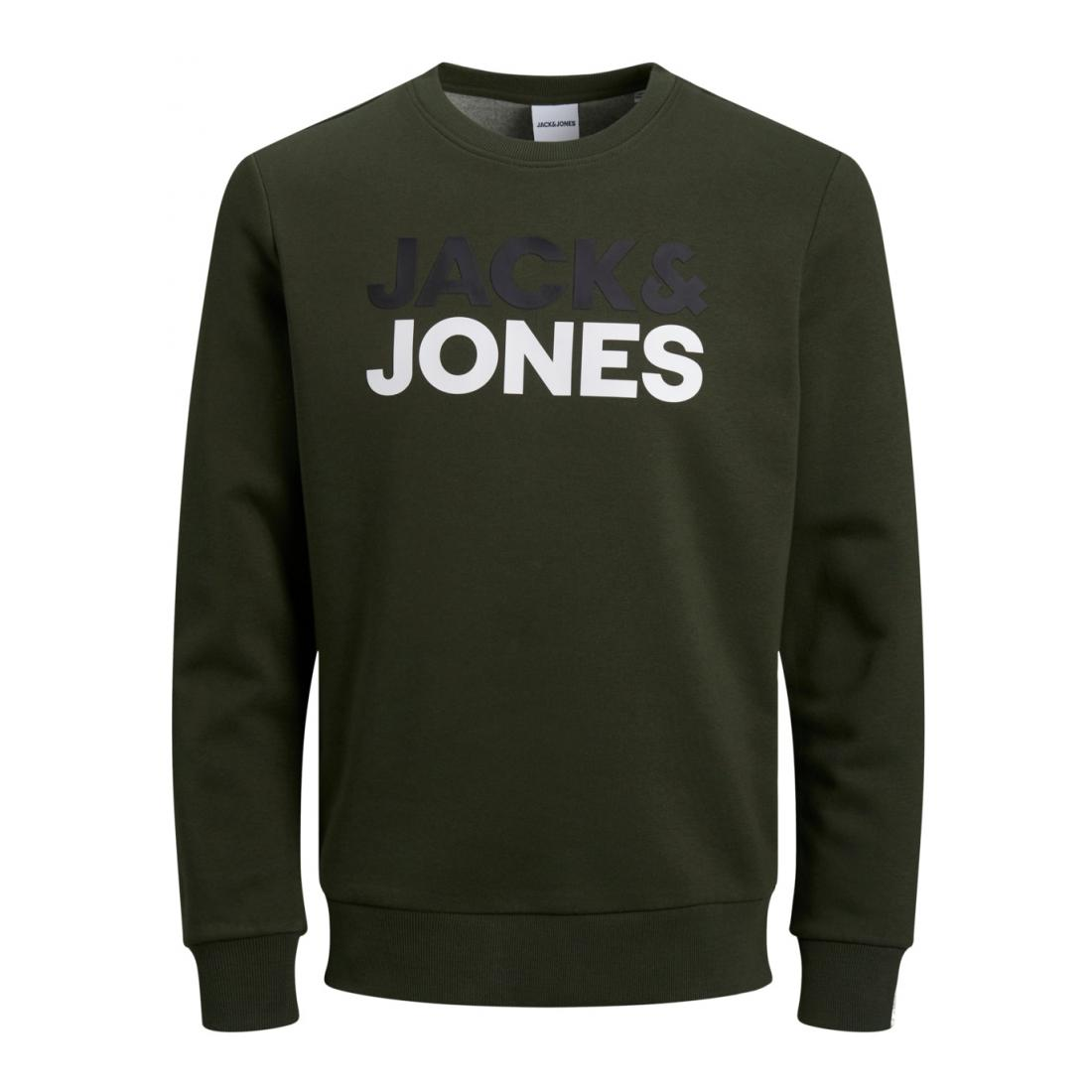 Jack & Jones Pullover Herren JJSPORTS SWEAT CREW NECK