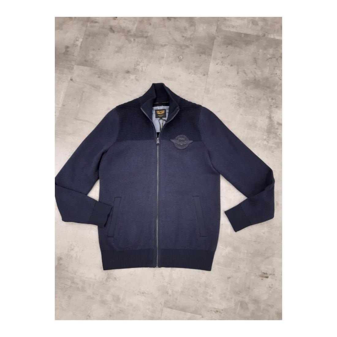 PME Legend Cardigan Herren Zip jacket cotton double