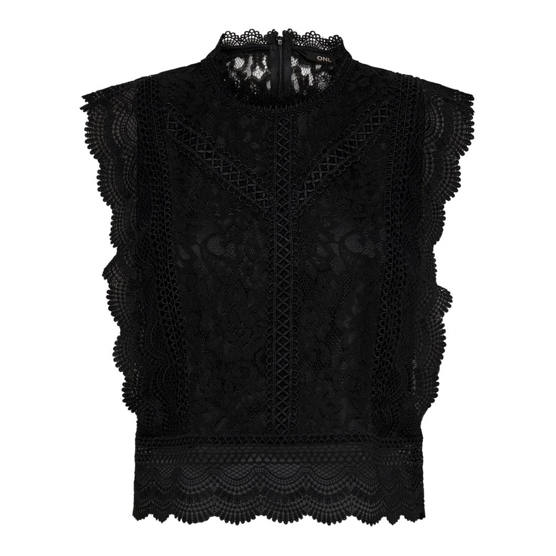 Only andere Oberteile Da ONLKARO S/L LACE TOP WVN
