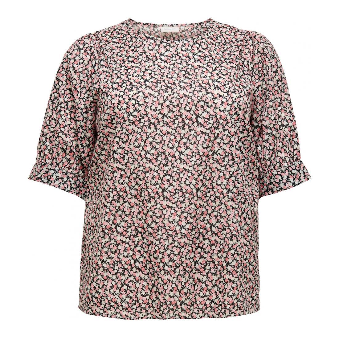 Only Carmakoma T-Shirt Damen CARLASSI 2/4 TOP