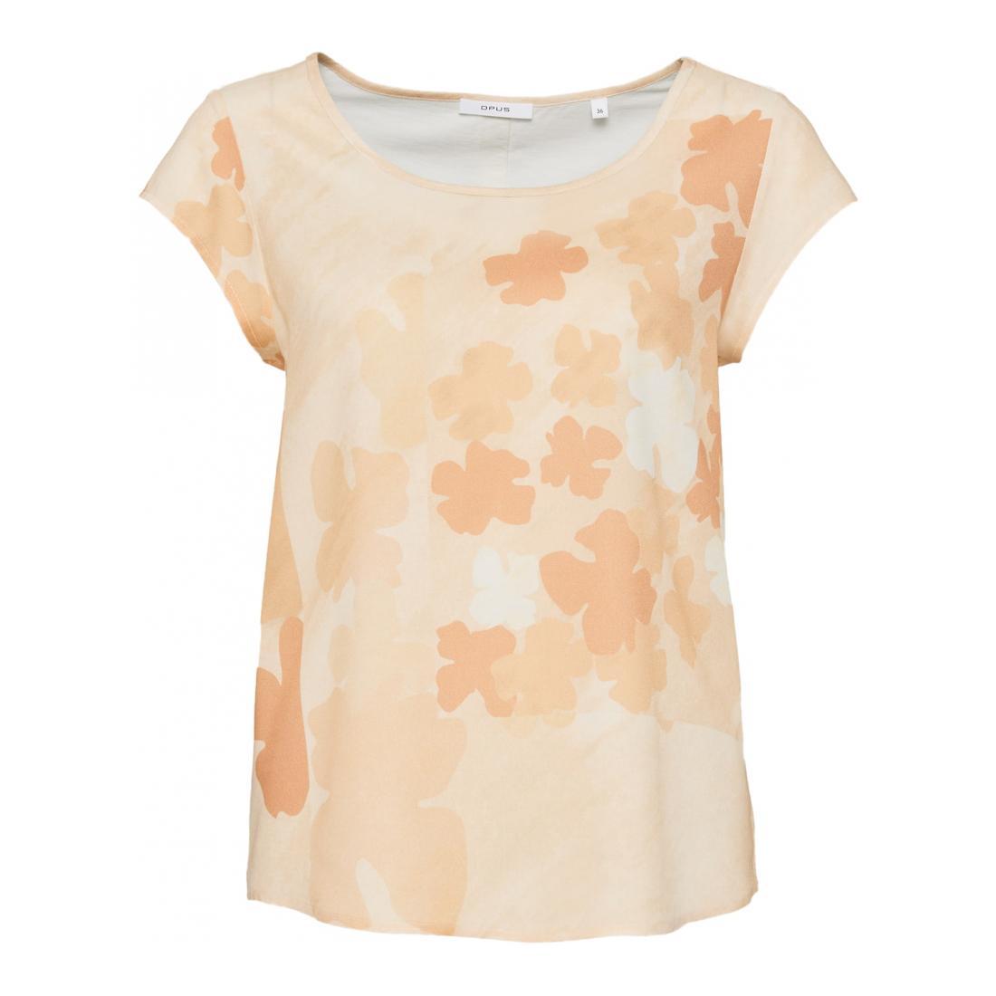 Opus T-Shirt Damen Flinka faded