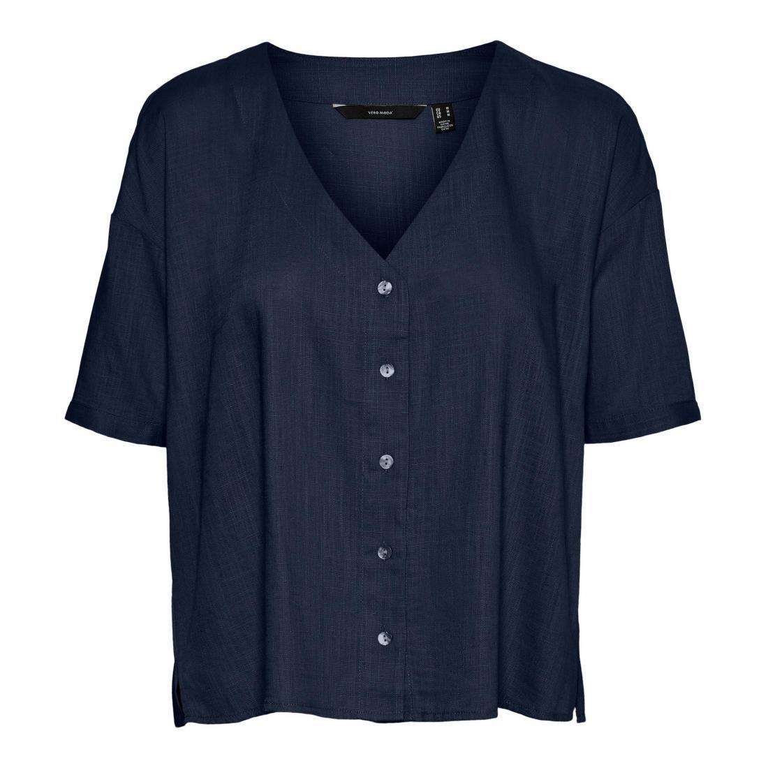 Vero Moda T-Shirt Damen VMHAF 2/4 SHIRT WVN