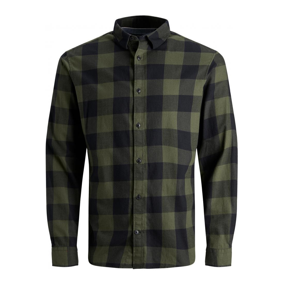 Jack & Jones Business Hemden Herren JJEGINGHAM TWILL SHIRT L/