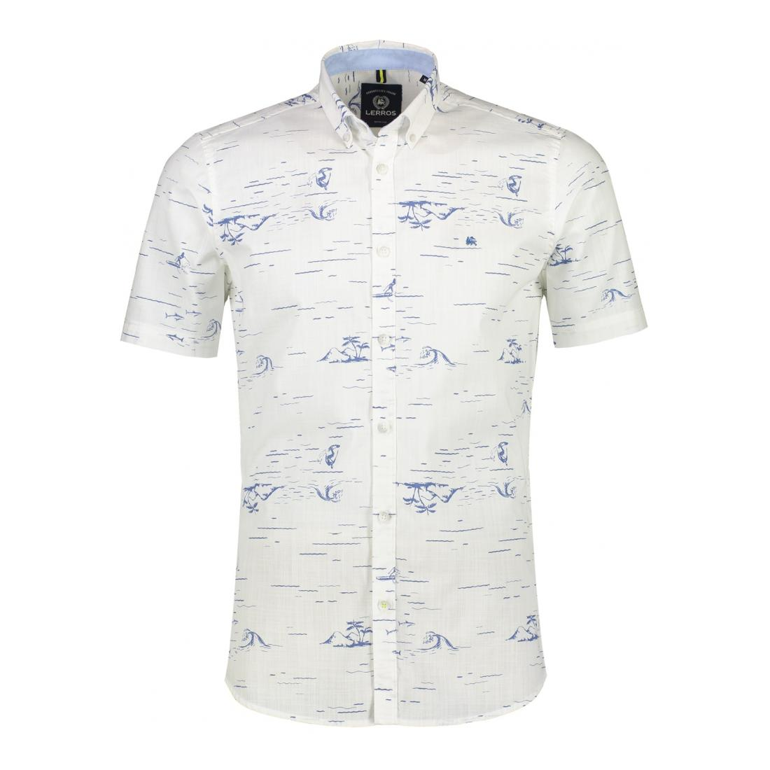 Lerros Casual Hemden Herren HEMD 1/2 ARM