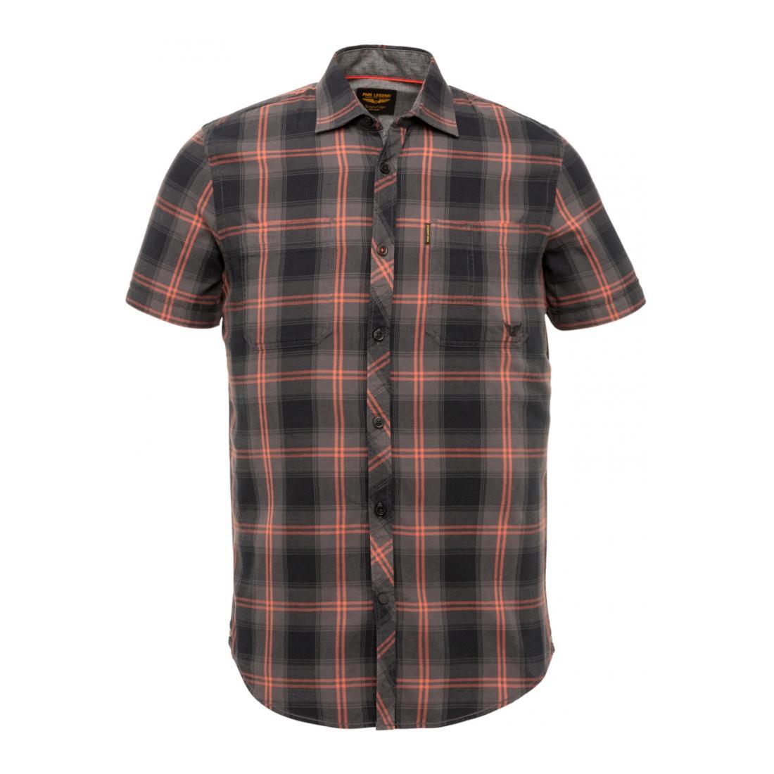 PME Legend Casual Hemden Herren Short Sleeve Shirt Twill