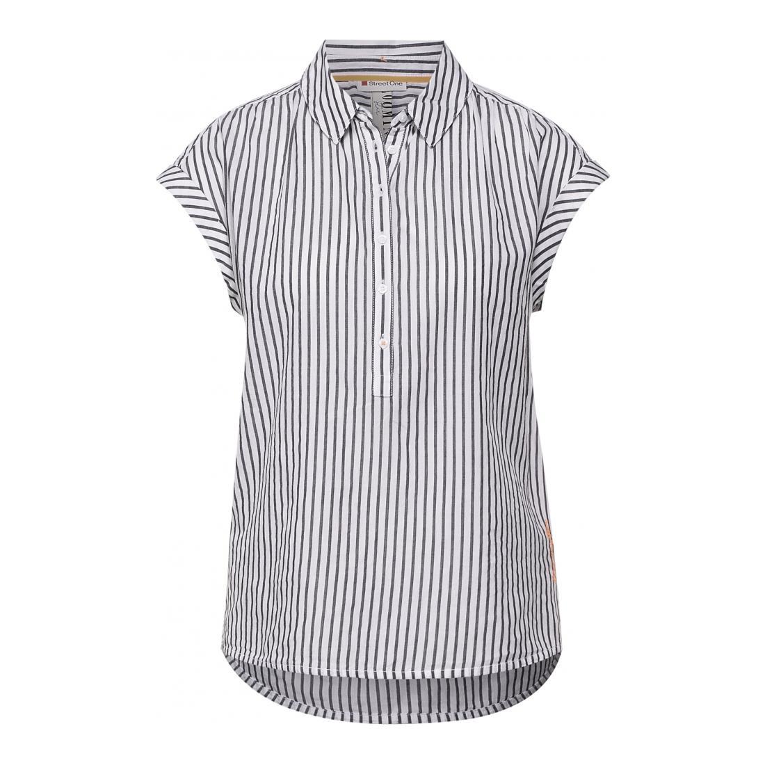 Street One Casual Blusen Da Striped shirtcollarblouse