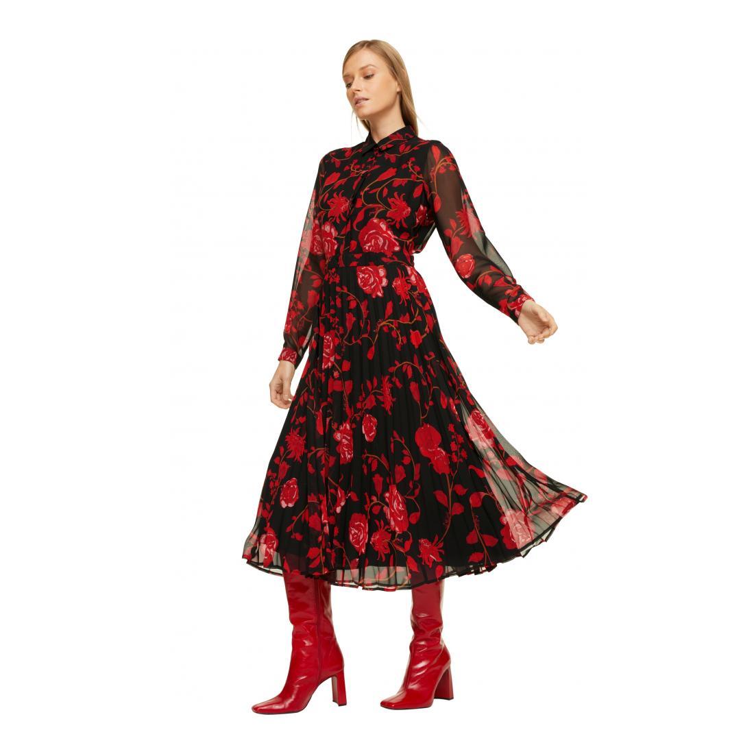 Comma Kleider Lang Damen Kleid Kurz Schuh Welt Wo Markenschuhe Gunstig Sind