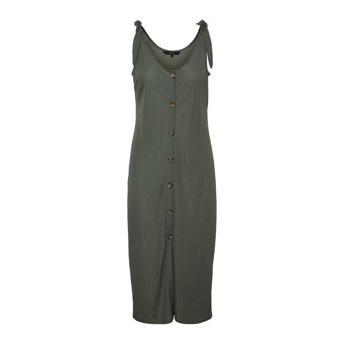 Vero Moda Kleider lang Damen VMPETRA SL CALF DRESS JRS