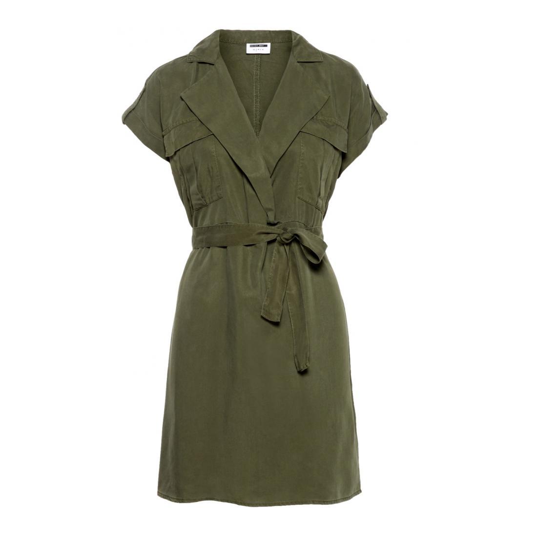 Noisy May andere Kleider/Röcke Damen NMVERA S/S ENDI TENCEL SH
