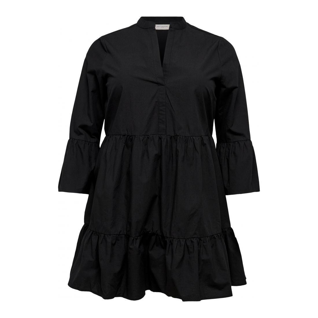 Only Carmakoma Kleider lang Damen CARCORINNE 3/4 TUNIC DRES